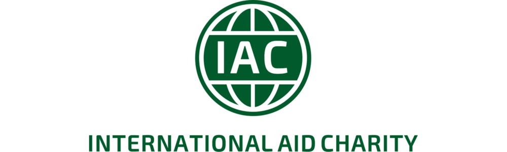 International Aid Charity (IAC) header logo